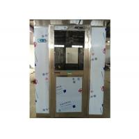 China Auto Far Infrared Sensor Stainless Steel Air Shower Room For Seafood Workshop wholesale