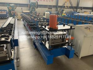 China Automatic Galvanized C Purlin Roll Forming Machine 15 Rows wholesale