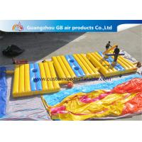 China High Tensile Strength Inflatable Sports Games , Blow Up Battle Mat Air Combat wholesale