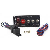 China 30A Universal Racing Switch Panel For Car , Toggle Starter Switch wholesale