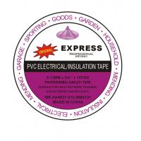 China Express PVC Electrical Insulation Tape 0.13mm×19mm×10yds for Electrical Insulation wholesale