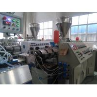 China PVC Ceiling Panel Plastic Sheet Extrusion Equipment With 3-Roller Calender wholesale