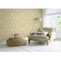 China Classical Non Woven Interior Design Wallpapers Washable With Embossed Surface wholesale