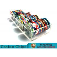 Quality Professional Scrub Casino Chip Tray / Plastic Chip Tray 150g Easy To Carry for sale