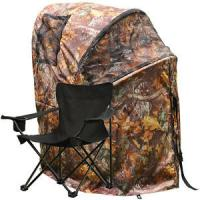 Pro Hunting Chair One Man Ground Blinds Real Tree Camo Tent for Deer Turkey , Duck