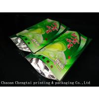 China Coffee Customized Stand Up Pouches / Heat Sealable Tea Packaging Bags 50G on sale