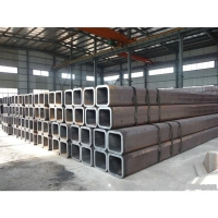China ASTM A36 50x50 square steel pipe/S275/S355 Galvanized square pipe SHS RHS 40x80 GI rectangular square hollow section wholesale