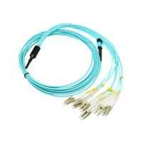 China MPO-LC 12C OM4 Fiber Optic Bundle Fan Out Assemblies For Next Generation Transsimission wholesale