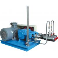 China Low Vibration LNG Cryogenic Liquid Pump For L-CNG Piping Supply 10000-30000L/h Blue Color on sale