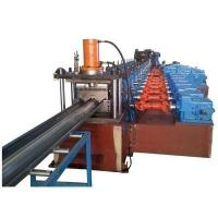 China 3 Waves Highway Guardrail Roll Forming Machine Use Universal Coupling Export to Poland European Countries wholesale