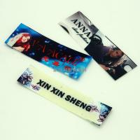 China Washable PET Film Heat Transfer Clothing Labels , Heat Transfer Fabric Labels wholesale