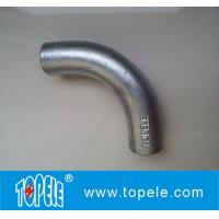 Quality BS4568 Conduit Fittings 20mm, 25mm Malleable Iron Solid Elbow , 90 Degree for sale