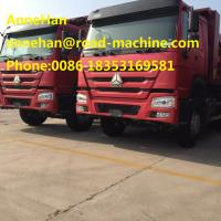 Buy cheap EuroII 6 X 4 371HP Heavy Duty Dump Truck , Muck Tipper Dump Truck For Carrying Muck Easy Operation from wholesalers