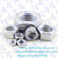 Quality Hot sale low price China fastener manufaturer hex nut m3 to m64 din934 for sale
