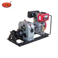 China High Quantity Selling 3Tons Shafted Driven Cable Powered Pulling Winch wholesale