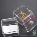 China acrylic cosmetic counter organizer wholesale