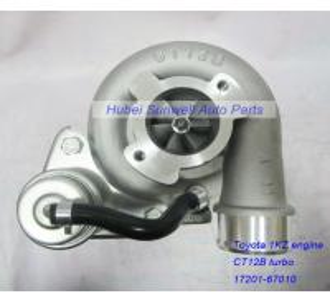 China Toyota 1KZ engine turbo 17201-67010, CT12B turbo for Toyota Land Cruiser 1KZ-T engine 17201-67040 on sale