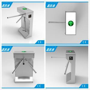 China Electric Waist Height Drop Arm Turnstile Comapct Safety Mechanical Tripod Turnstile Gate wholesale