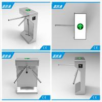 China Electric Waist Height Drop Arm Turnstile Comapct Safety Mechanical Tripod Turnstile Gate wholesale