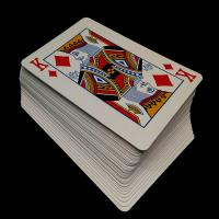 Buy cheap CMYK or pan - tone Color Personalized Poker Cards , Magic Poker Playing Cards from wholesalers
