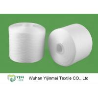 China 2/60S Plastic Cone Spun Type High Tenacity Bright Virgin Polyester Yarn High Twist For Sewing Thread wholesale