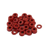 China Red Silicone Rubber Seal Ring Food Grade Weathering Processing For Glass Washer wholesale