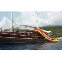 China Cold Air Inflatable Water Sports, Inflatable Yacht Slide For Sale wholesale