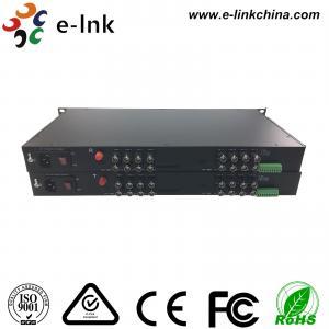 Buy cheap E-link 16-Ch HD-AHD/HD-CVI/HD-TVI/CVBS 4-in-1 Video Fiber Converter with 2 years Warranty from wholesalers