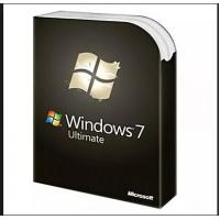China Microsoft Windows 7 Ultimate Key PC Computer Software 32/64 Bit Digital License wholesale