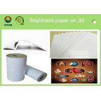 China 80gsm - 250gsm Glossy Invitation Paper , Glossy White Paper Offset Printing wholesale