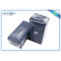 Buy cheap Water Proof PE Coated Disposable Bed Sheet Size 80CM x 210CM For Massage from wholesalers