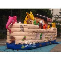 China Safety Noah's Ark Paradise Inflatable Combo Bounce House For Kids wholesale
