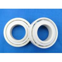 Quality ZrO2 Ceramic Bearings , Full Ceramic Bearings , Cage Was Made By PTFE, GFRPA6 , for sale