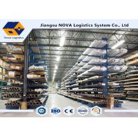 China Single / Double Side Storage Heavy Duty Cantilever Rack With Steel Materials wholesale