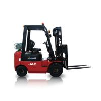 China JAC Gasoline Forklift Truck 1.5 Ton Lifting Capacity 3m - 6m Lift Height wholesale