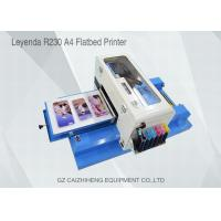 China Offset A4 Small Format UV Flatbed Printer , 1440dpi Eco Solvent Printing Machine wholesale