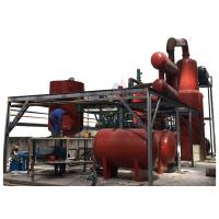 China Used Engine Oil Regenerating Plant , Engine Oil Recycling Plant For Quality Base Oil on sale