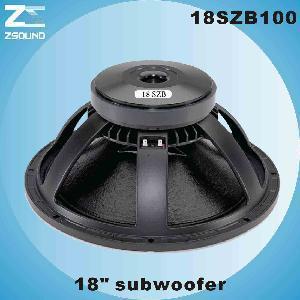 China Subwoofer (18SZB100) wholesale