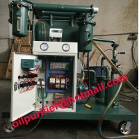 China Vacuum Insulation Oil Purifier,oil purification kit Remove Water, Gas ,Particles, Discolor wholesale