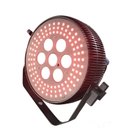 China 7*10W RGBW 4in1 108pcs RGB 5050SMD LEDS Flat Par Light Dmx In And Out wholesale
