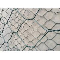 China Plain Weave Gabion Wire Mesh / Heavily Zinc Gabion Mattress For River Bank Protection wholesale
