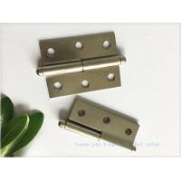 China Multi - Purpose High Security Door Hinges Nickel Plated Butt Type wholesale