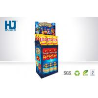 China Promotion Cardboard Pallet Display , Cardboard Display Racks For Chips / Snacks wholesale