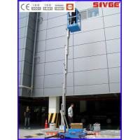 Quality Shopping Centers Vertical Mast Lift 136 Kg Capacity With 8 Meter Platform Height for sale
