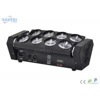 China Dual - Tilt No Base 8 Eyes Spider Beam Moving Head Light for DJs wholesale