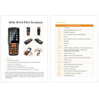 Quality Latest Android Handheld Terminal R310 Barcode Logistics PDA with 4g wifi gps for sale