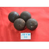 Quality Mines D90mm Unbreakable Forged Grinding Steel Ball High Core Hardness 59hrc - 60hrc for sale