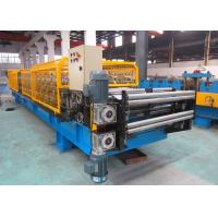 China Double Layer Metal Roof Roll Forming Machine For IBR & Corrugated Sheets wholesale