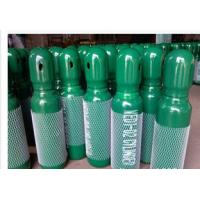 China Green / Blue 34CrMo4 High Purity Compressed Gas Cylinder 200BAR 5.2mm Thickness wholesale