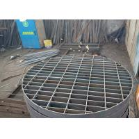 China Galvanized Steel Press Lock Welded Grating For Marine Passage Special Shape wholesale